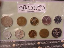 MALDIVE SET COIN COD. 3752