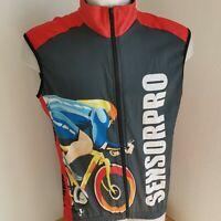 maillot de cyclisme SENSORPRO vintage taille L Porté ?