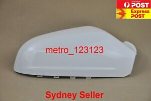 RIGHT DRIVER SIDE MIRROR COVER HOUSING FOR HOLDEN ASTRA AH 2005 - 2009 WHITE