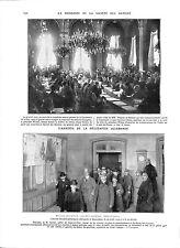 WWI Traité Paix Paris Société des Nations SDN League of Nations A ILLUSTRATION