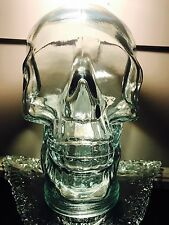 Glass Skull  Recycled Green Glass ~ Vidrios San Miguel from Spain