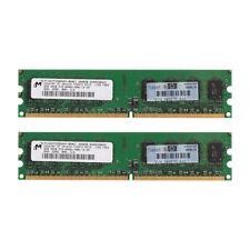 4GB (2x 2GB) DDR2 800 PC2 6400 6400U Memoria non ECC Memoria RAM a 240 pin PC