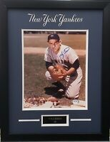 Yogi Berra autographed signed 8x10 photo framed MLB New York Yankees PSA COA