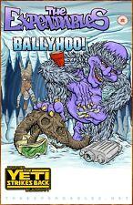 Expendables Ballyhoo! Winter Blackout Yeti Strikes Back 2019 Tour Ltd Ed Poster