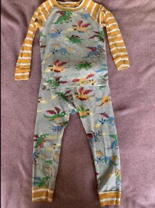 Boys Hatley Dragon Pyjamas Age 3 Years