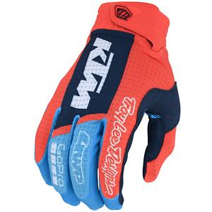 Troy Lee Designs Air Gloves TLD KTM Youth Kids Mx Motocross Atv Bmx Mtb Dh