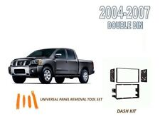 NEW fits 2004-2007 NISSAN TITAN CAR STEREO INSTALL DASH KIT, with Tool Set