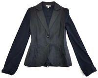 Maria Di Ripabianca Black Blazer Jacket Size USA 4 Womens
