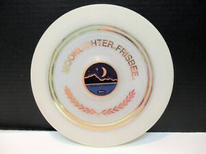 VINTAGE 1973 WHAM-O-FRISBEE MOONLIGHTER GLOW IN THE DARK FRISBEE VG CONDITION !!