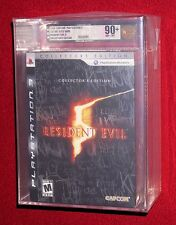 Resident Evil 5 Collector's Edition CE PS3, New Sealed!  VGA 90+