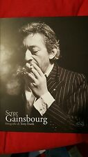 SERGE GAINSBOURG  - SERGE GAINSBOURG FOTOGRAFIE DI TINY FRANK. LIBRO 167 PAGG.
