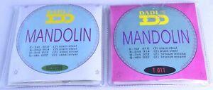 MANDOLIN STRINGS bronze Silver wound steel gauges 010-032 mandelin 8 strings