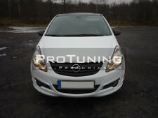 Front bumper Valance Spoiler For Opel Corsa D
