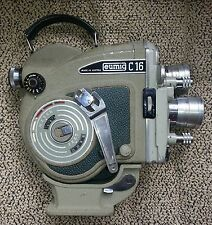 EUMIG C16R CINE MOVIE CAMERA 16mm & Case: