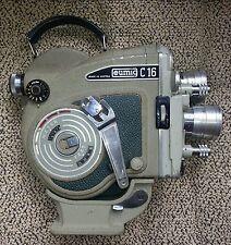 EUMIG C16R CINE MOVIE CAMERA 16mm & CASE:
