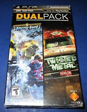MotorStorm: Arctic Edge + Twisted Metal: Head-On Dual Pack Sony PSP *Sealed!