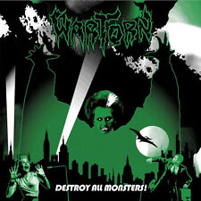Wartorn ‎– Destroy All Monsters LP / Green Marbled Vinyl (2016) Hardcore Punk
