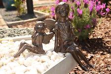 Elfe Gusseisen Metall Gartendeko Deko Figur Skulptur