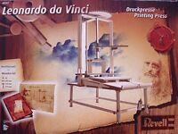 REVELL 1:12  KIT IN LEGNO TORCHIO DA STAMPO LEONARDO DA VINCI ART 00507
