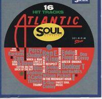 VARIOUS ARTISTS Atlantic Soul Classics CD ALBUM