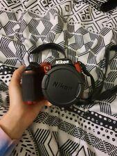 Nikon Coolpix B500 40x Zoom 16MP Digital Camera Pack - Red W / Built-in Wi - Fi