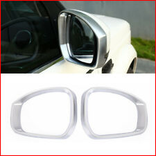 For Land Rover Discovery 4 LR4 10-2016 Chrome Rearview Mirror Rain Eyebrow Trim