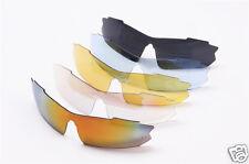 New 5 Shades with 1 Polarized Lens Sports Sunglasses Set