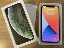 Apple iPhone XS - 64GB - Space Gray (Unlocked) with Case, Screen Protector, Box