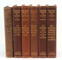 1917-1922 The Centennial History of Illinois 6 Volumes Clarence Walworth Alvord