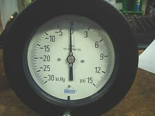 Wika vacuum gauge 212.25 4.5'' -30in.hg 15psi 4234988 - 60 day warranty