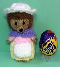 Huevo de Pascua Chick /& Narciso Crema cubre y 2 zanahorias tejer patrones