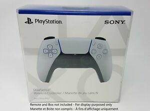 SONY PLAYSTATION 5 - PS5 REMOTE CLEAR BOX PROTECTOR PLASTIC CASE
