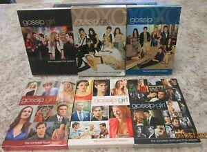 Gossip Girl The Complete Series Seasons 1-6 (1, 2 3, 4, 5, 6) Blake Lively DVD