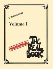 THE REHARMONIZED REAL BOOK VOLUME 1 C INSTRUMENTS MUSIC BOOK BRAND NEW ON SALE!!