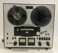 Akai GX-230D Reel-to-Reel Stereo Tape Deck Recorder Vintage Reel Player W/ Cover