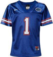 Florida Gators #1 Nike Replica Football Jersey Royal Blue Boys Youth Sizes