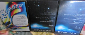 Visionarys New-Age Healing,Consciousness,Paranormal   3 DVDs
