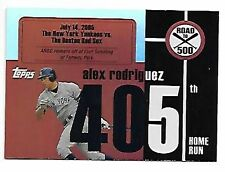 ALEX RODRIGUEZ   2007 TOPPS   ROAD TO 500 #405 SP