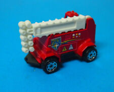 MATCHBOX (50th) #60 WATTS UP MOBILE POWER LIGHT TRUCK IN RED & WHITE