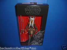 "Star Wars Ahsoka Tano 6"" Figure The Black Series Rebels, The Clone Wars, TFA New"