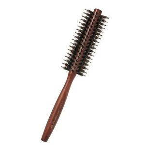 Nylon Hair Round Brush Roller Comb Non-Slip Handle for Straightening Curling