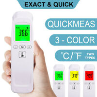 Infrared Forehead Thermometer Digital LCD Non-Contact Temperature Gun Baby/Adult