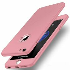 Luxury Soft 360 Full Cover Shockproof TPU Silicone Case For iPhone 7 8 XR XS Max