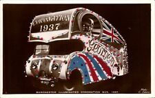Manchester Illuminated Coronation Bus 1937 by C.Downs.