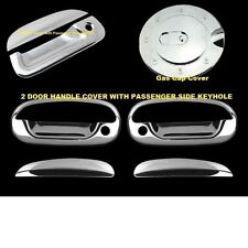 For Ford F150 1997-2003 Chrome Covers Set 2 Doors WITH Keyholes+Gas+Tailgate KH