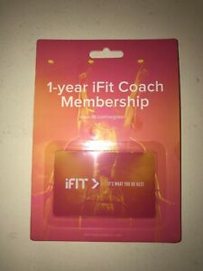 iFIT 1-Year Membership Family Plan iFit Coach (MSRP $396) HIGHEST BIDDER WINS!!