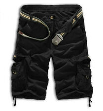 Men's Military Army Combat Trousers Tactical Camo Cargo Workout Shorts Pants US