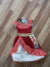 Elena Of Avalor Adventure Dress Disney Costume S (4-6X)