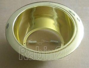 6 INCH RECESSED LIGHT ALL GOLD BRASS REFLECTOR TRIM BAFFLE R30 PAR30 SAME RING