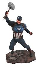 "AVENGERS - Captain America 9"" Marvel Gallery PVC Diorama Statue (Diamond Select)"